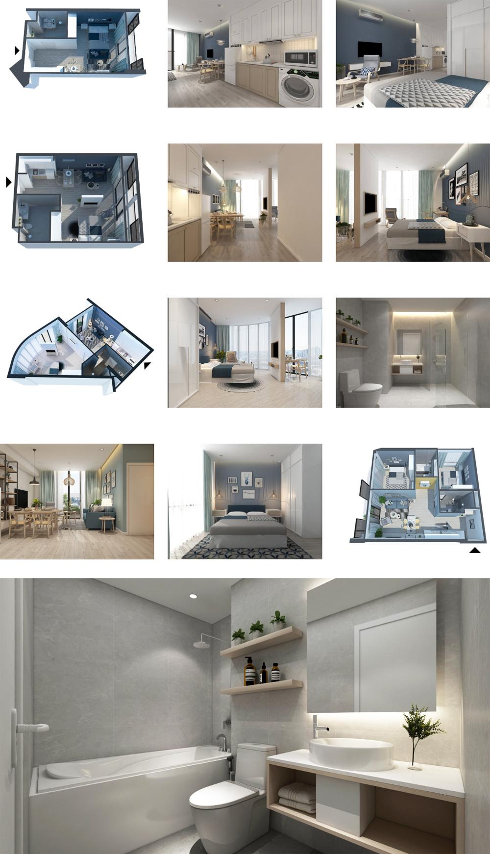Marina Suites Nha Trang Nhà Mẫu