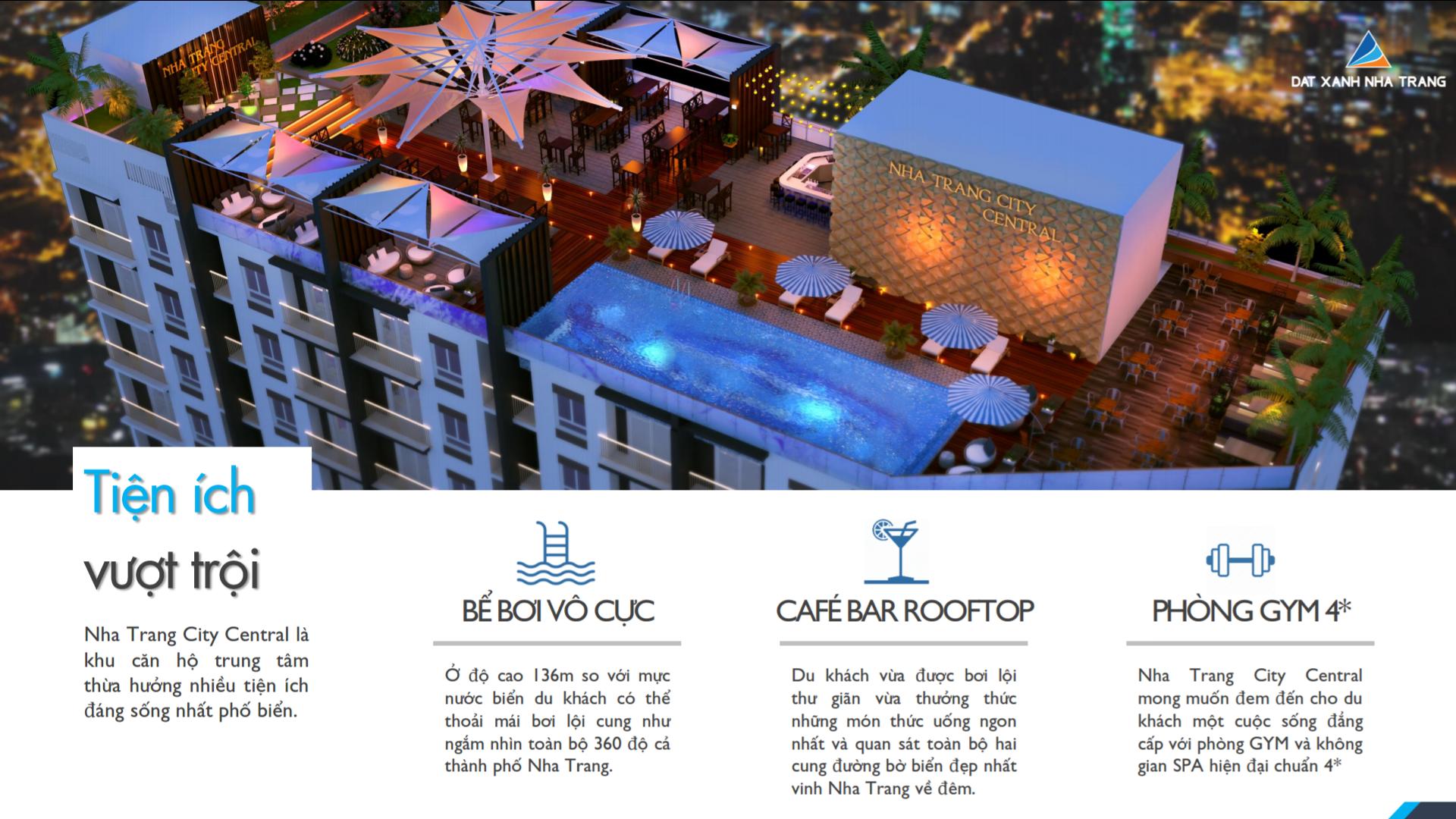 Tiện ích nội khuNha Trang City Central