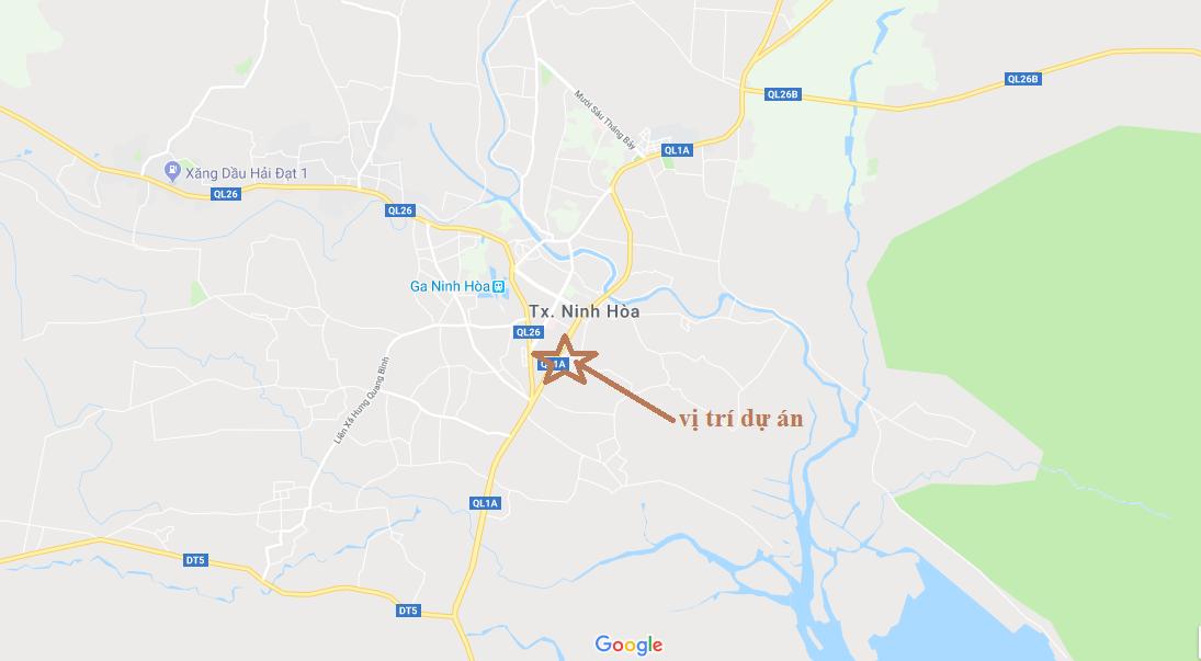 Đất nền Nam Vân Phong