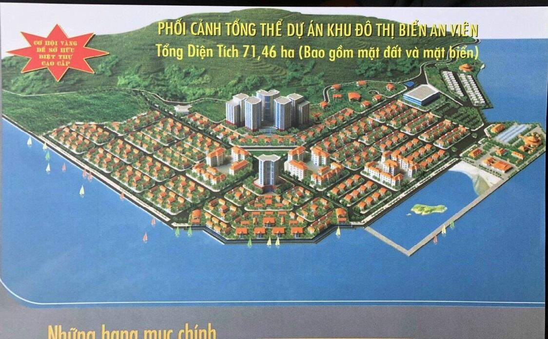 mặt bằng tổng thể dự án khu đô thị biển an viên