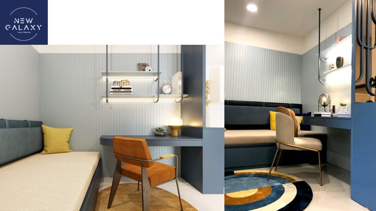 thiết kế nhà mẫu căn hộ new galaxy nha trang